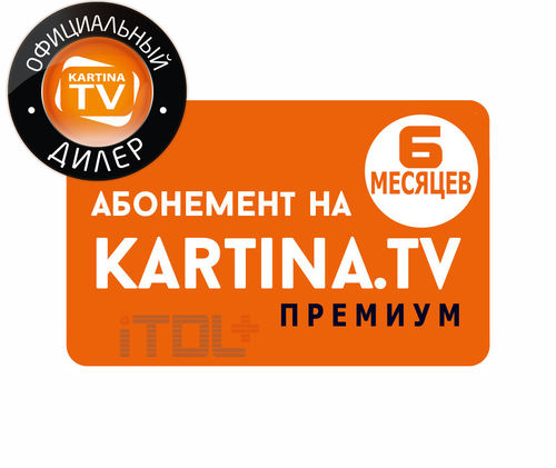 Abonnement Kartina.TV, 6 Monate